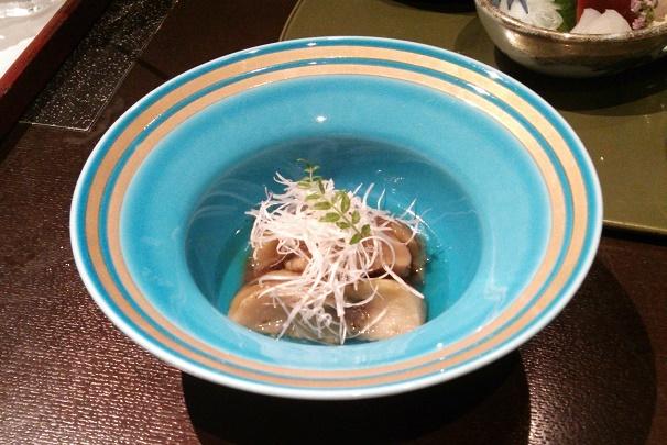 飯蛸と竹の子の焚き合わせ