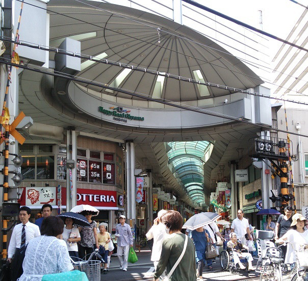 都内屈指のアーケード商店街 ハッピーロード大山
